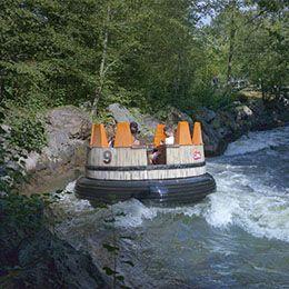 La descente du Colorado au parc de loisirs Le PAL en Auvergne-Rhône-Alpes
