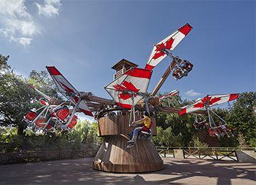 Les Ailes du Yukon au parc d'attraction Le PAL