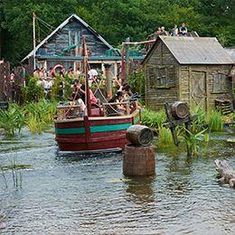 L'Alligator Baie au parc de loisirs Le PAL en Auvergne-Rhône-Alpes