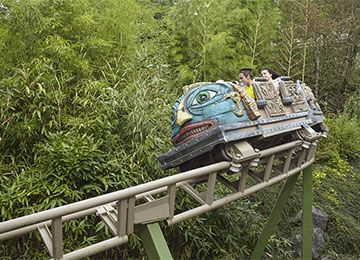 L'Azteka au parc de loisirs Le PAL en Auvergne-Rhône-Alpes