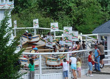 Les caravelles au parc d'attraction Le PAL